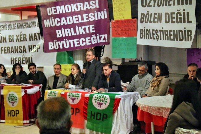 HDP Kırşehir'de konferans düzenledi