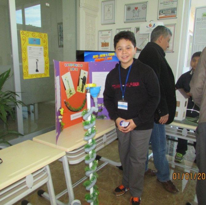 Yıldırımhan Okulları'nda 'genç mucitler' yarıştı