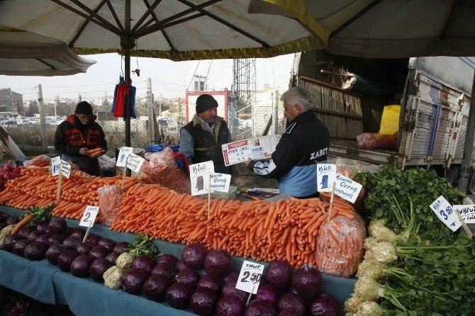 Zabıta Ekiplerinden Donmuş Meyve Ve Sebze Denetimi