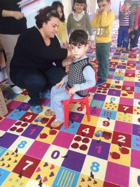 Gömeç'te Okul Aşıları Tamamlandı
