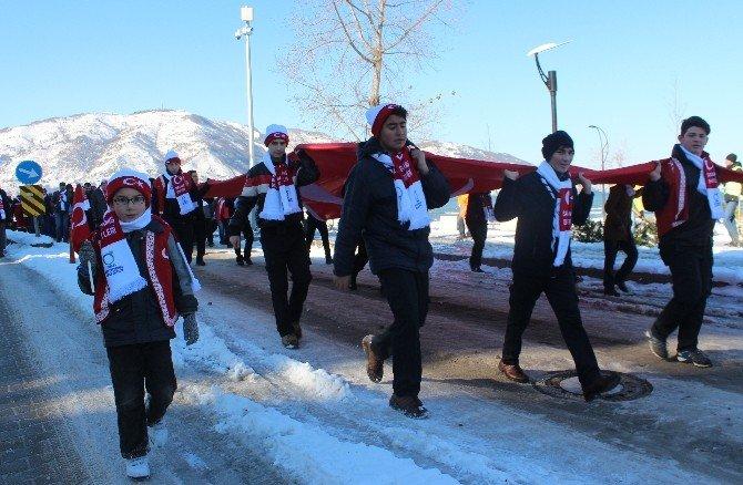 Ordu'da Sarıkamış Şehitleri İçin Yürüyüş Ve Anma Töreni Düzenlendi
