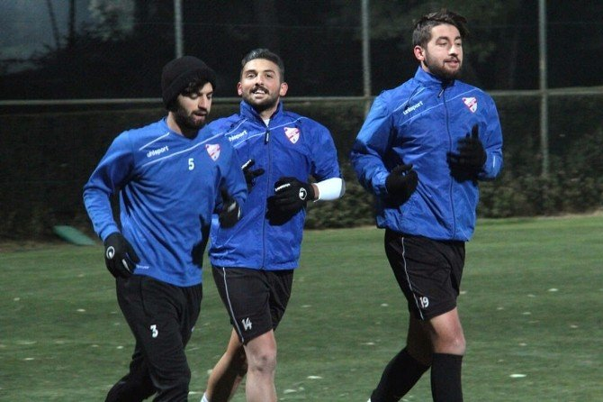 Boluspor'un Antalya Kampı Başladı