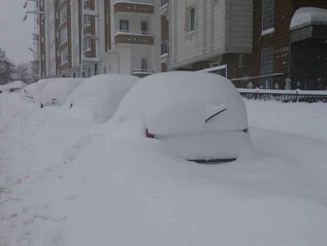 Sinop'ta okullara kar tatili
