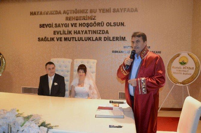 Osmangazi'de Yabancı Gelin Ve Damat Rekoru