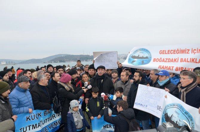 İstanbul Boğazı'nda gırgırla balık avına tepki