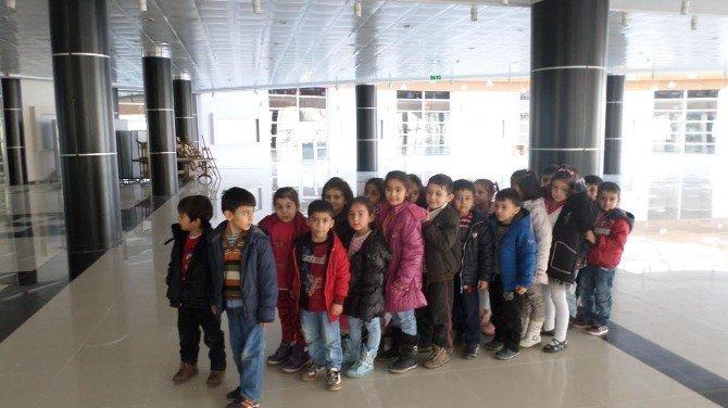 Minik Öğrenciler, Mabesem'i Ziyaret Etti
