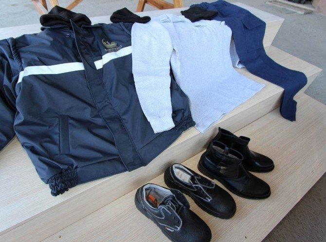 Saruhanlı Belediye Personeline Yeni İş Elbisesi