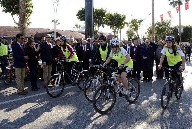 Bisikletçiler, Kurtuluş Günü İçin Mücadele Etti