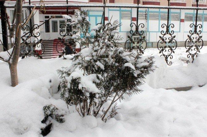 Ağrı'da Kar Esareti