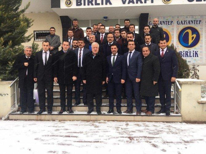 Milletvekili Uzer Birlik Vakfı Gaziantep Yönetimine Güncel Değerlendirmelerde Bulundu