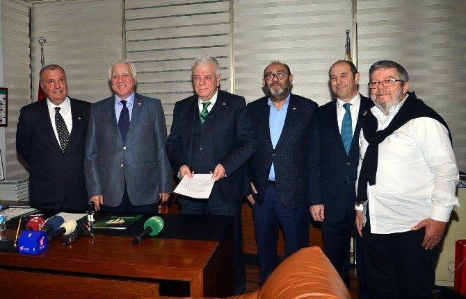 Bursaspor'da Başkanlık Koltuğuna 7 Aday