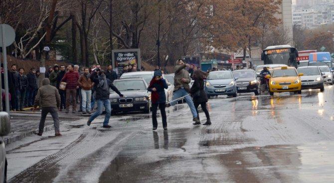 Ankara Üniversitesi'ndeki kavgada 2 öğrenci gözaltına alındı