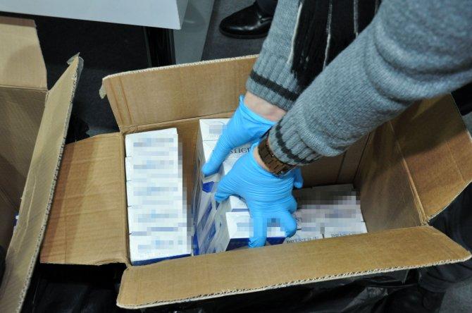Polis, 55 bin 750 paket kaçak sigara ele geçirdi