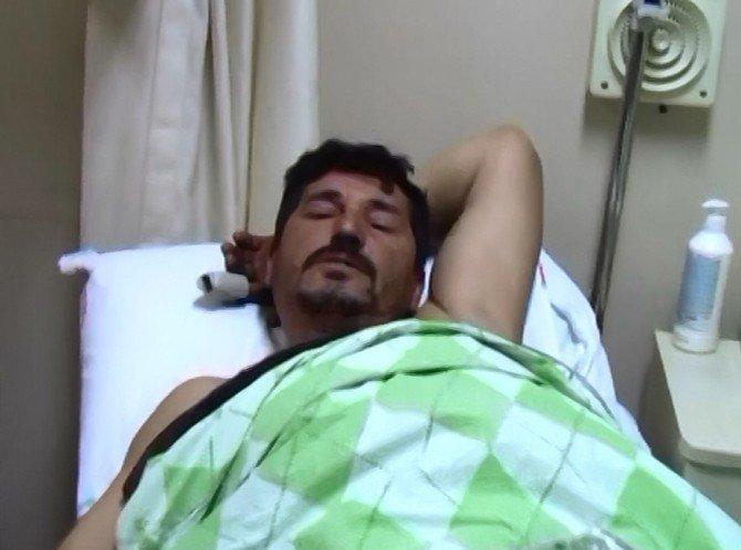 Çanakkale'de Batan Tekneden Kurtulan Balıkçılar Tedavi Altına Alındı