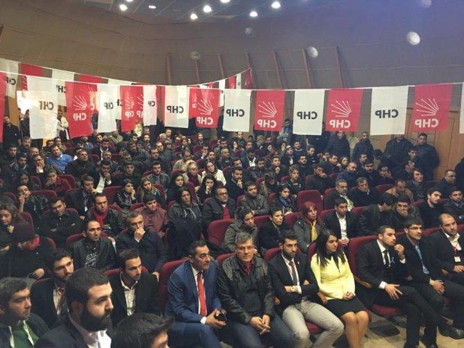CHP İl Gençlik Kolları Başkanı Alaattin Solmaz oldu