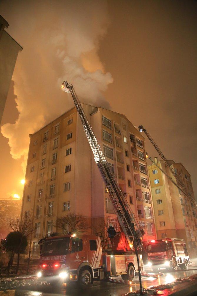 Eyüp'te yangın paniği