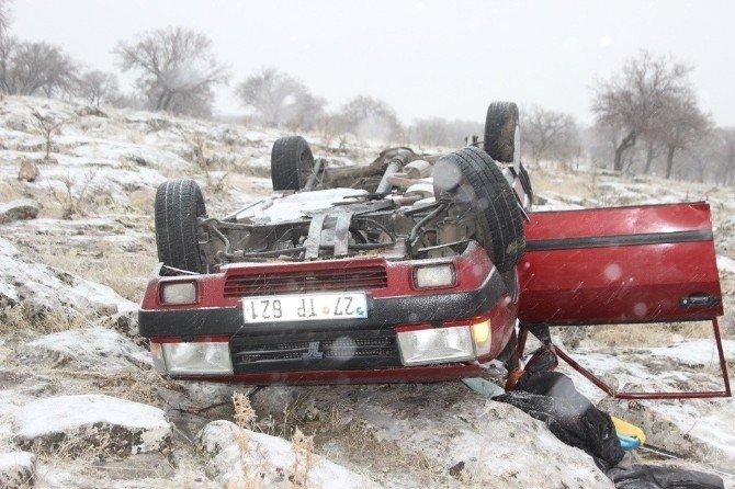 Yavuzeli'nde Trafik Kazası: 1 Ölü, 2 Yaralı