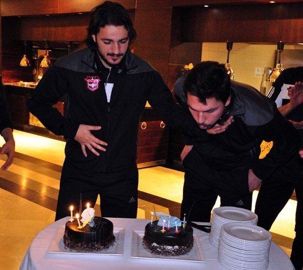 Gaziantepspor'da Çifte Doğum Günü Kutlandı