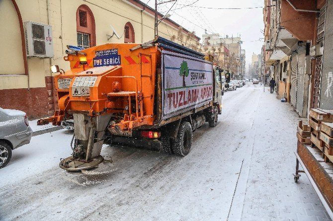Şehitkamil Belediyesi'nden Kar Yağışına Anında Müdahale
