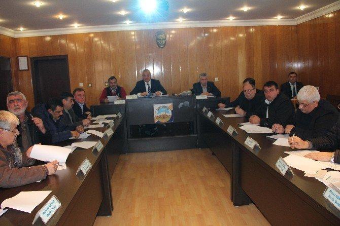 İncesu Belediyesi Aralık Ayı Bileşim Toplantısını Yaptı
