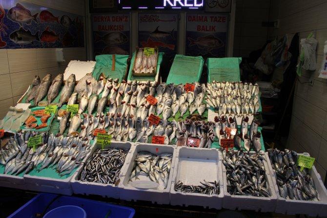 Soğuk hava balık fiyatlarını etkiledi