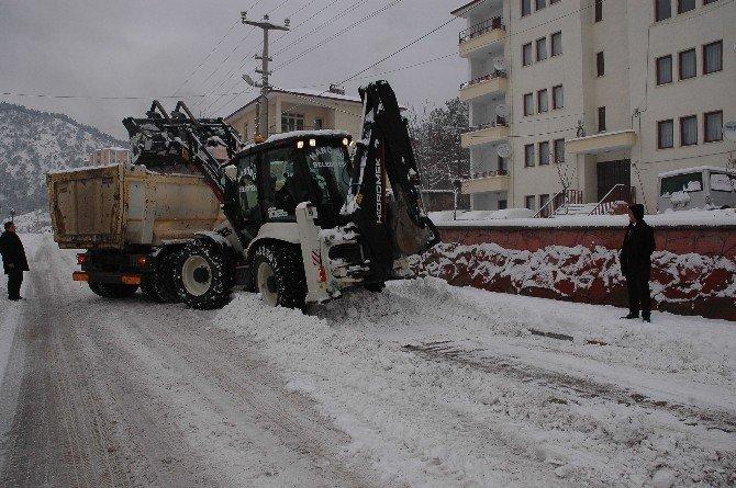 Hanönü Belediyesi Karla Mücadele Çalışmalarına Başladı