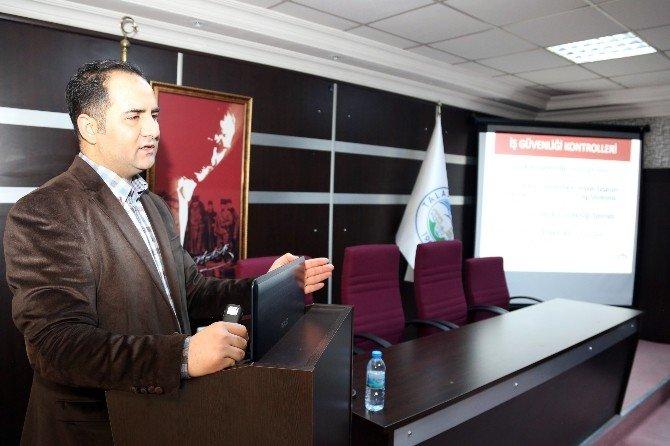 Talas'ta İş Sağlığı Ve Güvenliği Üst Seviyede