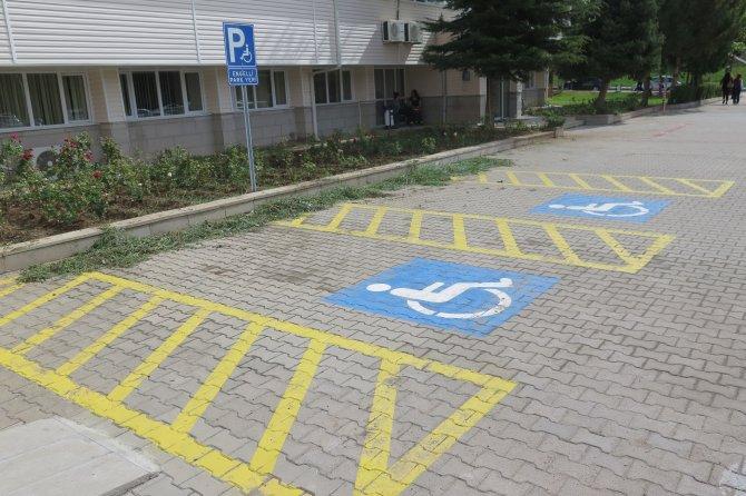 Üniversitede engelsiz kampüs alanı kuruldu