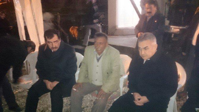 AK Partili Vekillerden Şehit Evine Taziye Ziyareti