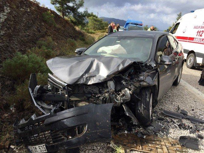 Datça Kaymakamı Trafik Kazasında Yaralandı