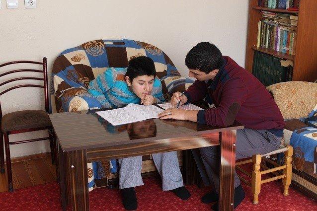 Engelli Gencin Yardımına AFAD Yetişti