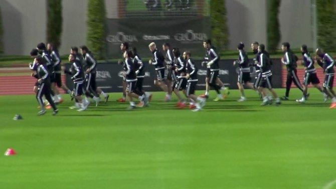 Beşiktaş, Antalya'da ilk çalışmasını başladı