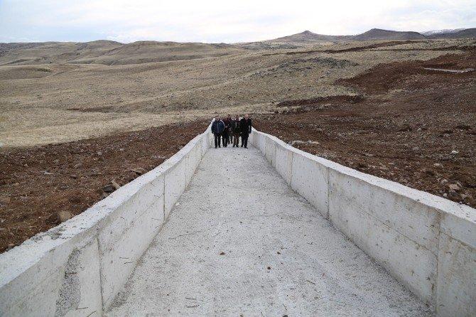 Tunceli'de Hayvan İçme Suyu Projesi Tamamlandı