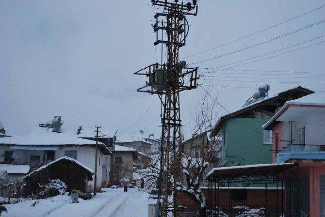 Pazarlar'da Elektrik Trafosunda Yangın