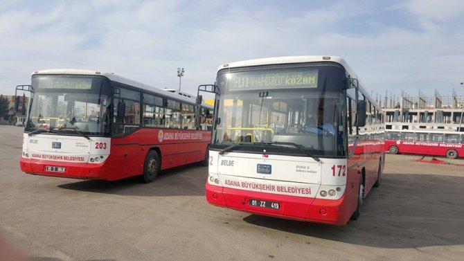 Yeni otobüs uygulamasına Kozan Belediye Başkanı'ndan destek