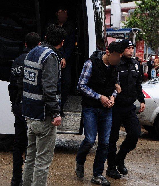 Market Yağmalayıp Yakan PKK'lılar Adliyeye Sevk Edildi