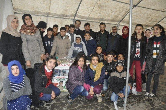 Hacıbey Ortaokulundan İHH'nın Düzenlediği Yardım Kampanyasına Destek