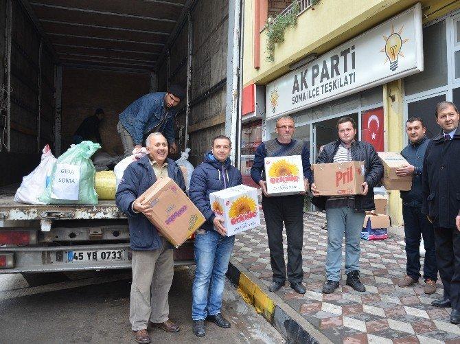 Soma'dan Bayır-bucak'taki Türkmenlere Yardım