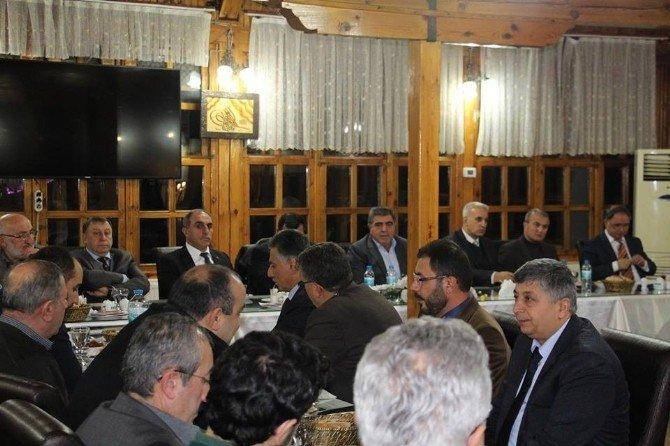 Başkan Özdemir 2015 Yılı Çalışmalarını Değerlendirdi