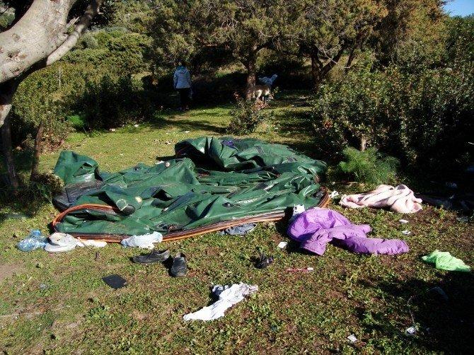 Bodrum Adaboğazı'nda Göçmen Dramı Sürüyor