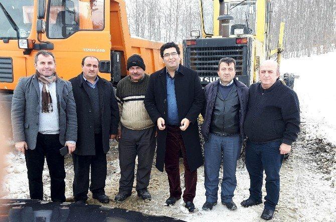 Bozkurt İlçesinde Köy Yollarının Yarısı Ulaşıma Açıldı