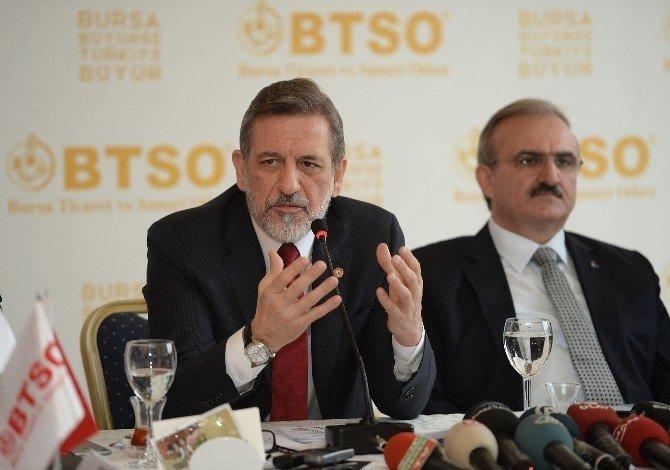 BTSO Yönetim Kurulu Başkanı İbrahim Burkay: