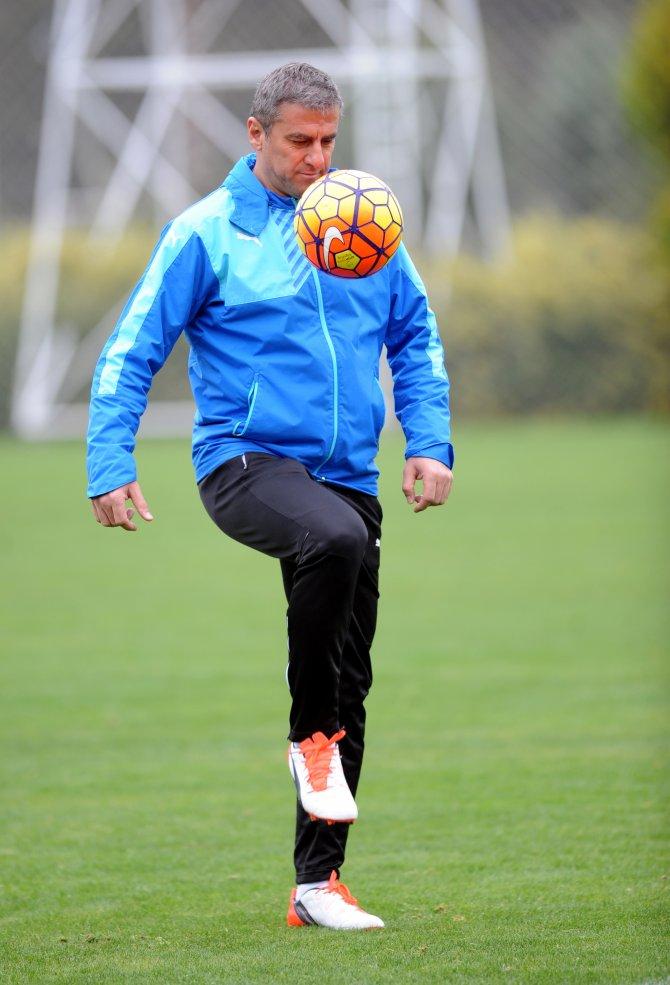 Bursaspor'da tempolu antrenman
