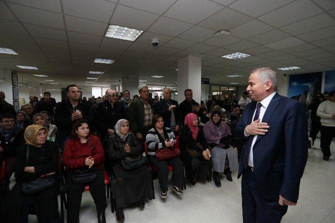 Başkan Zolan Vatandaşlarla Buluştu