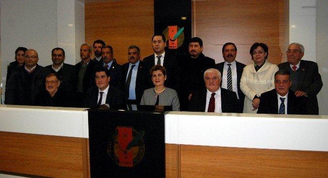 CHP'den GGC'ye Ziyaret