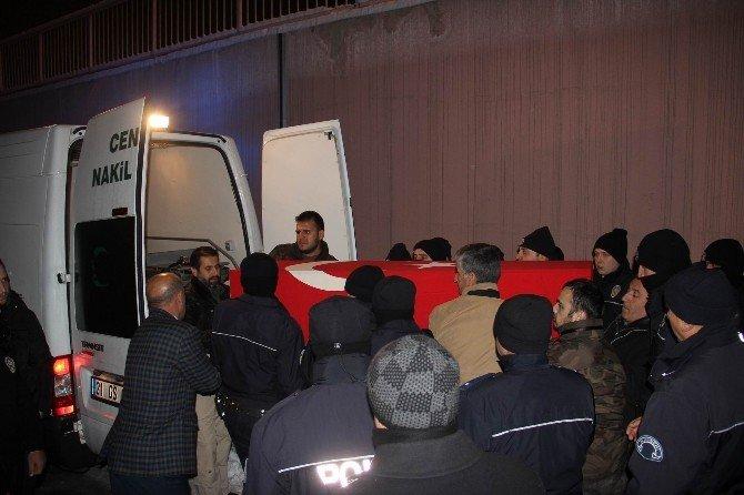 Şehit Özel Harekat Polisi Musa Yüce'nin Cenazesi Memleketine Getirildi
