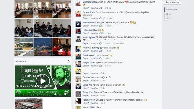 Tatil Geldi, Öğrenciler Kaymakam Akkoyun'u 'Kahraman' İlan Etti