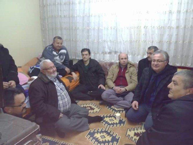 Emet Esnaf Odası'ndan Üyelerine Vefa Ziyareti