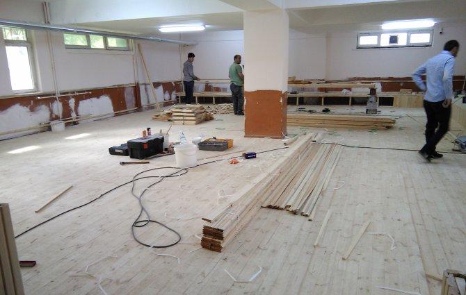 Aziziye ilçesinde okullar hayat buluyor
