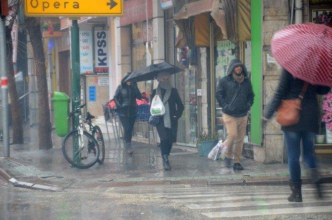 Eskişehir Yağmura Teslim